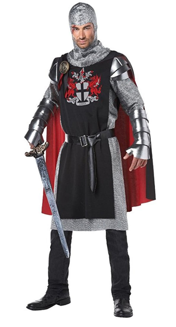 renaissance costume, medieval costume, knight