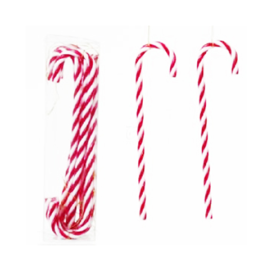 christmas candy cane decorations, candy cane ornaments