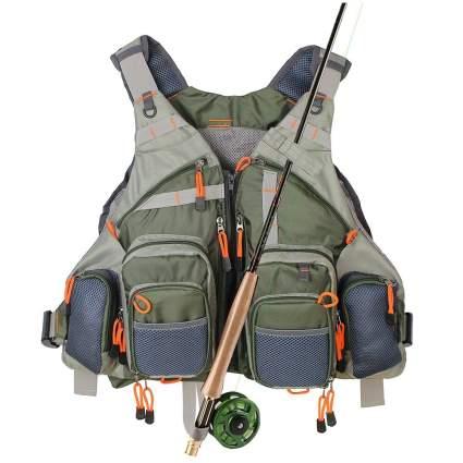 kylebooker, fishing vest, fly fishing vest, fly fishing