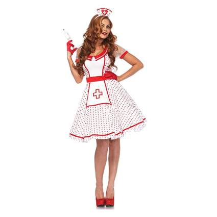 pinup girl nurse costume