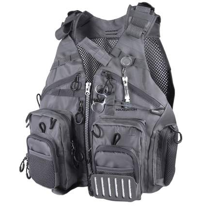 maxcatch, fky fishing vest, fly fishing, fishing vest