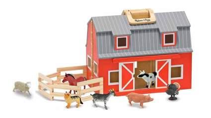melissa & Doug farm toys