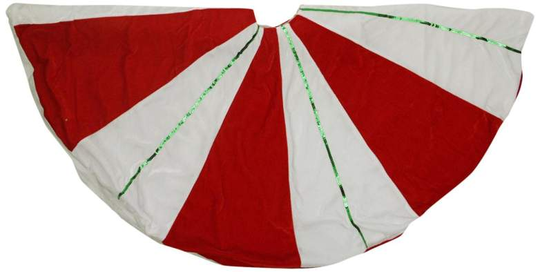 christmas candy cane decorations, candy cane tree skirt