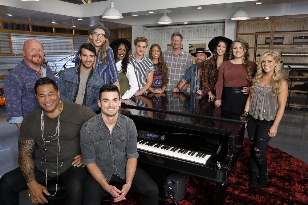 Team Blake Shelton The Voice, The Voice, The Voice 2017, The Voice Season 13, The Voice 2017 Contestants, The Voice 2017 Winners, The Voice 2017 Teams So Far