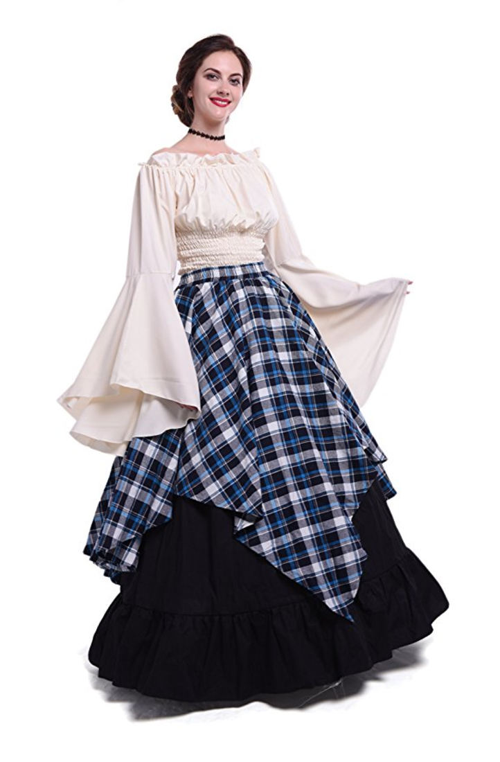 medieval costume, renaissance costume, peasant