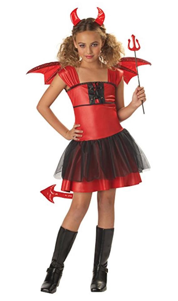 devil, teen, costume