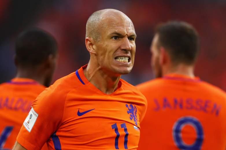 Netherlands World Cup, Arjen Robben, Arjen Robben World Cup, Netherlands Arjen Robben