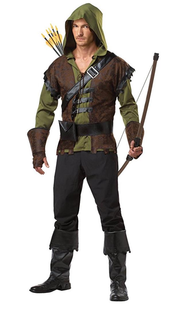 renaissance costume, medieval costume, robin hood