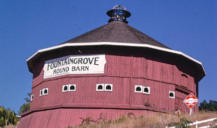 fountaingrove round barn, santa rosa round barn