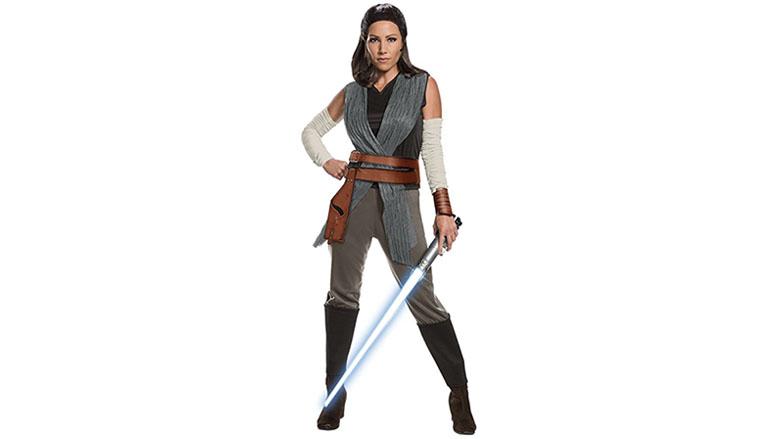 Rubies The Last Jedi Deluxe Rey Costume