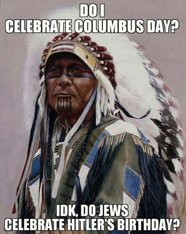 indigenous people's day memes
