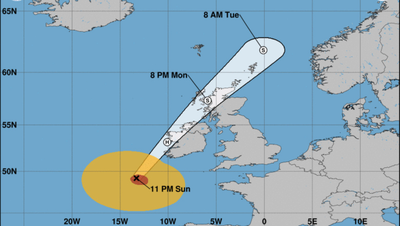 Hurricane Ophelia Ireland