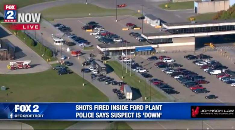 Ford Stamping Plant Shooting in Woodhaven; One Person Dead