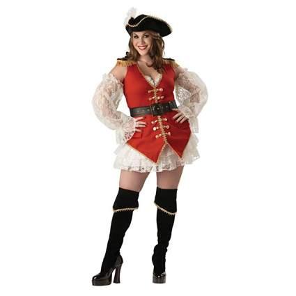 plus size victorian pirate costume