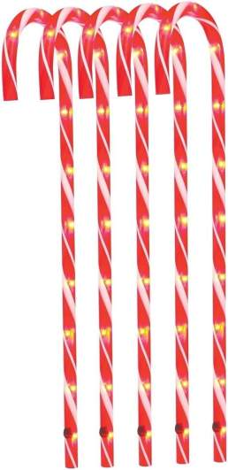 christmas candy cane decorations, outdoor candy canes