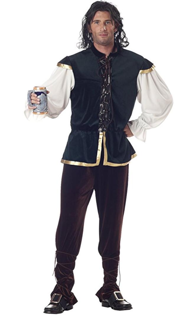 renaissance costume, medieval costume, tavern