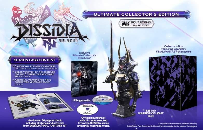 Dissidia Final Fantasy NT Collectors