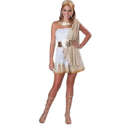 InCharacter Costumes Teen Glitzy Goddess Costume