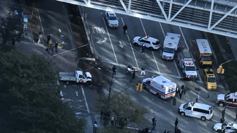 Lower Manhattan Ramming Shooting
