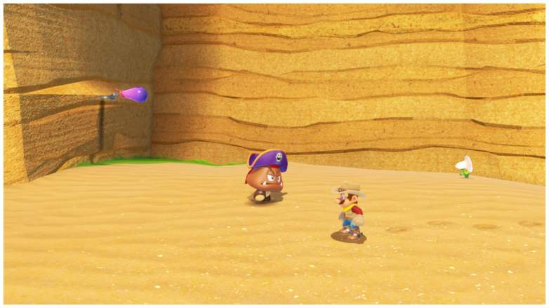 Super Mario Odyssey goomba