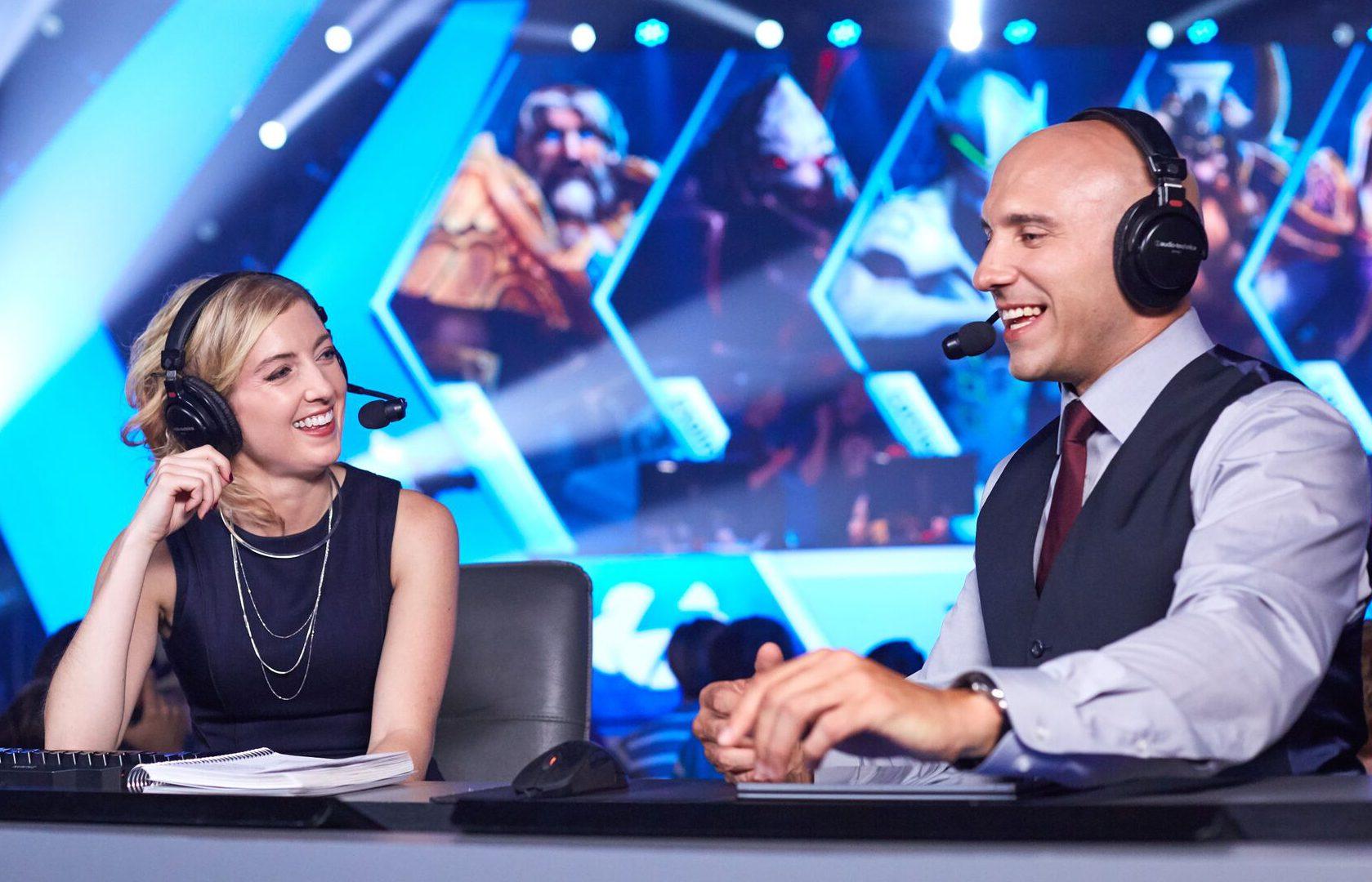 Gillyweed, Jaycie Gluck, HGC Finals Commentator
