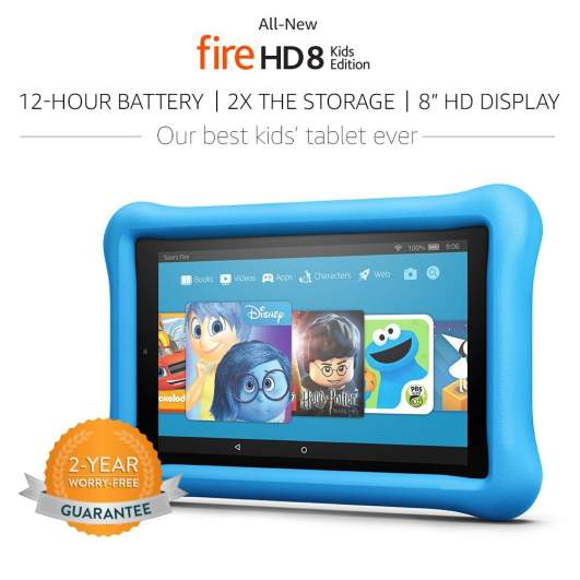 $40 Off All-New Fire HD 8 Kids Edition Tablet