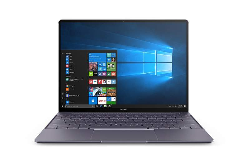 """Huawei MateBook X Signature Edition 13"""" Laptop, Office 365 Personal Included, 8+256GB / Intel Core i5 / 2K Display, MateDock v2.0 included (Space Grey)"""