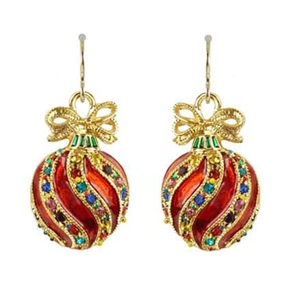 chistmas ornament earrings