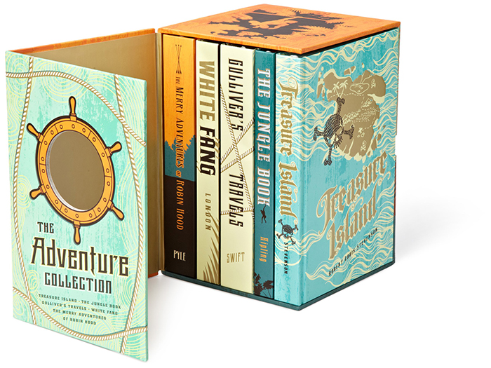 The Adventure Collection books