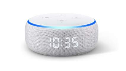 amazon echo dot smart alarm clock