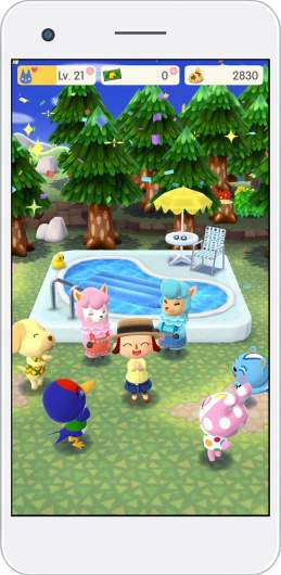 animal crossing pocket camp pool