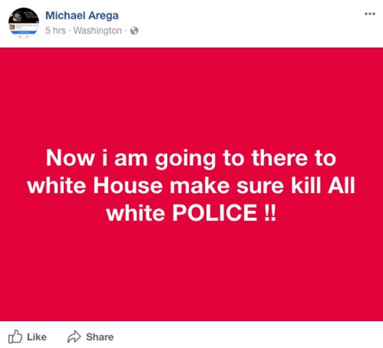 Michael Arega Facebook page