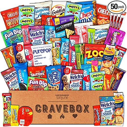 cravebox snack box gift basket
