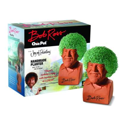 bob ross chia pet