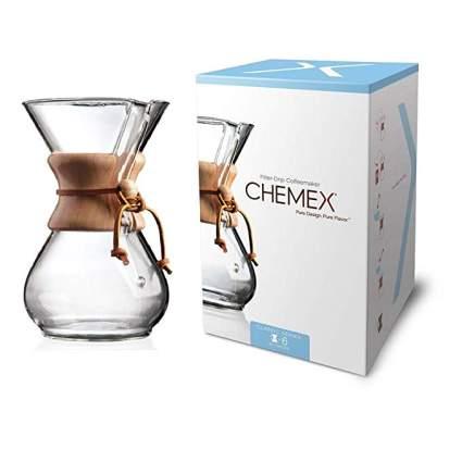 Chemex 6-Cup Classic Series Glass CoffeeMaker