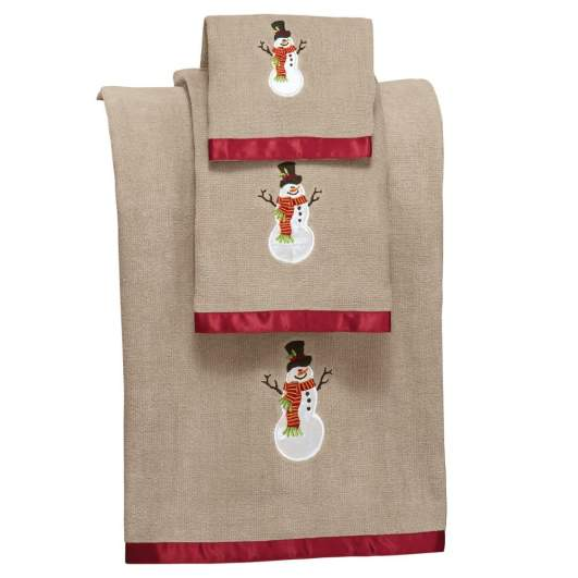 christmas bathroom towel, christmas bath towel set