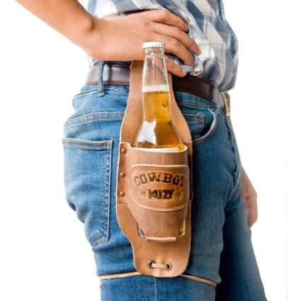 cowboy beer holster