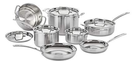 Cuisinart MultiClad Pro 12-Piece Cookware Set