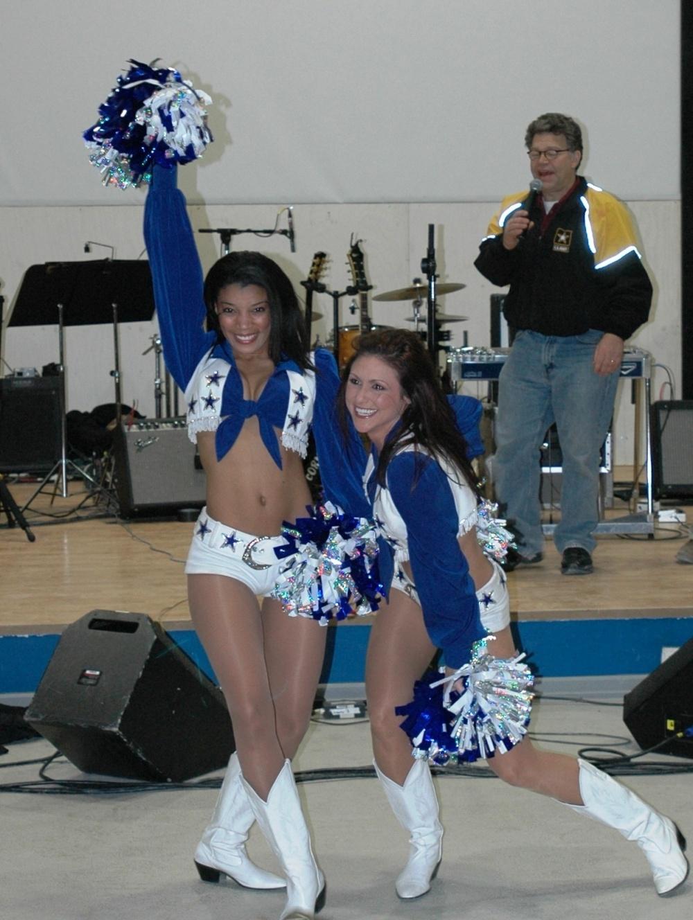 Al Franken Dallas Cowboys cheerleaders