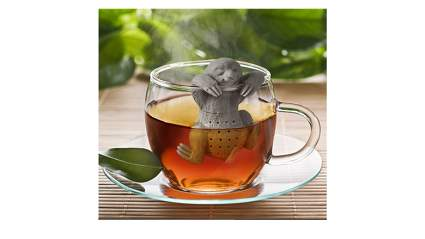 odd gifts, unique gifts, unusual gifts, unique gifts for women, unusual gifts for women, gift ideas for women, sloth tea infuser