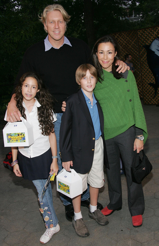 Ann Curry Husband Brian Ross