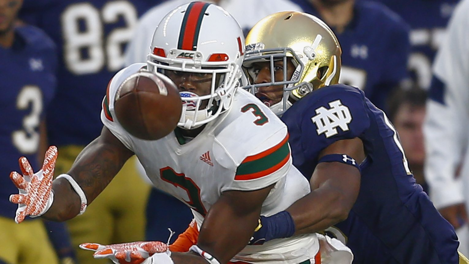Notre Dame Miami Odds Point Spread Total Prediction Heavy Com