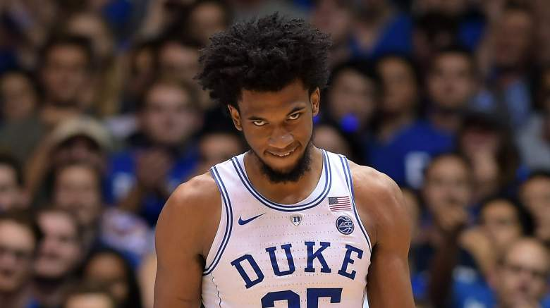 nba mock draft, marvin bagley, duke,