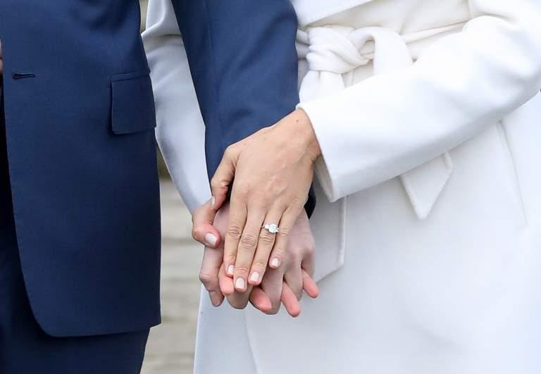 Meghan Markle engagement ring