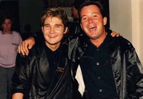Jon Grissom MySpace photo Corey Feldman