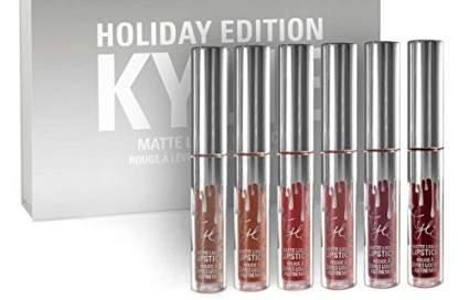 Holiday Kit Matte Liquid Lipsticks & Gloss