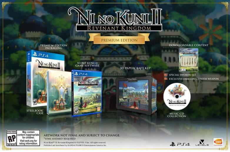 Ni no Kuni 2 Premium Edition