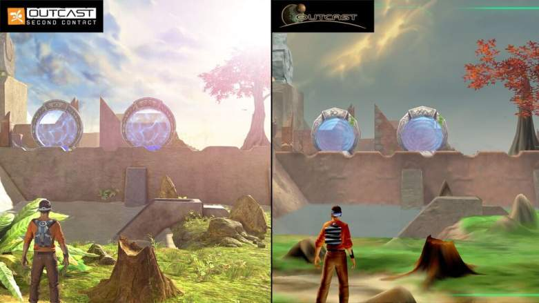 Outcast: Second Contact Graphics