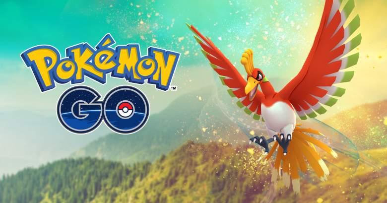 pokemon go ho-oh, pokemon go ho-oh location, pokemon go ho-oh time