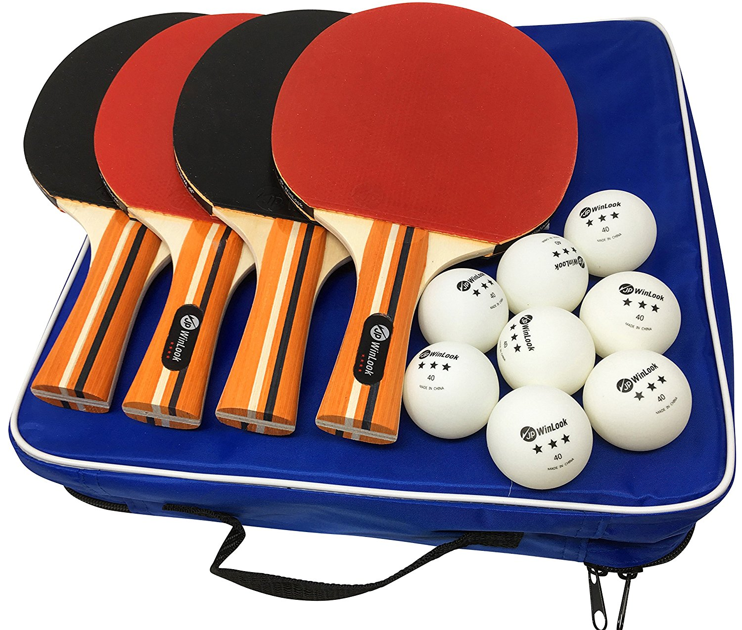 4 Professional Table Tennis Rackets//Paddles Details about  /MAPOL Quality Ping Pong Paddle Set